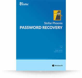 Stellar Windows Password Recovery software