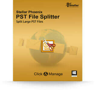 Stellar PST File Splitter software
